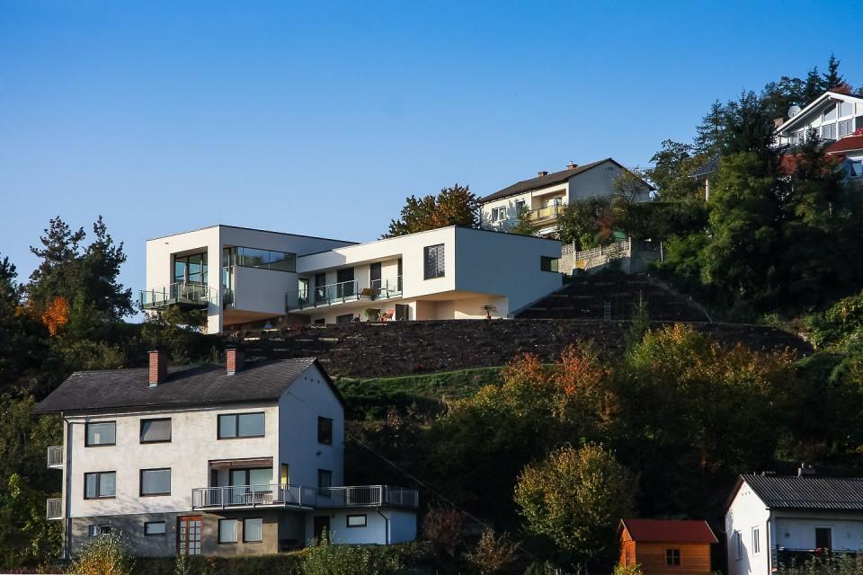 Wohnhaus über Wolfsberg