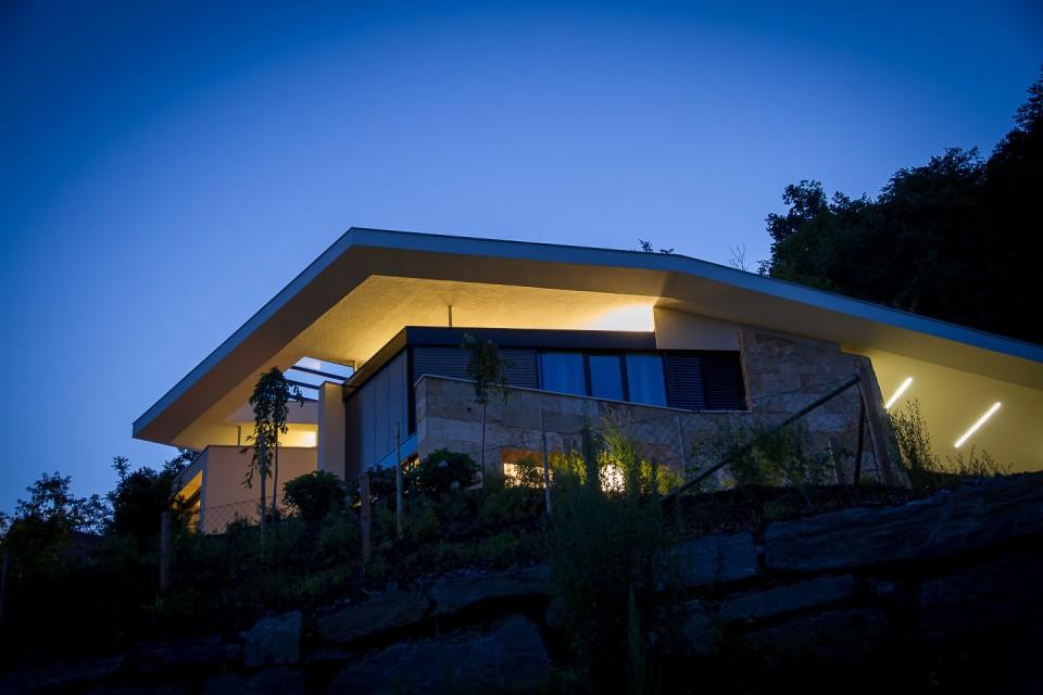 Wohnhaus mit Seeblick
