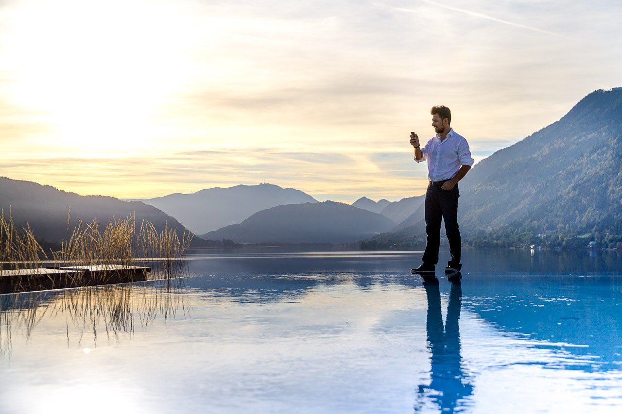 Infinity Pool, Panorama Penthouse Ossiacher See