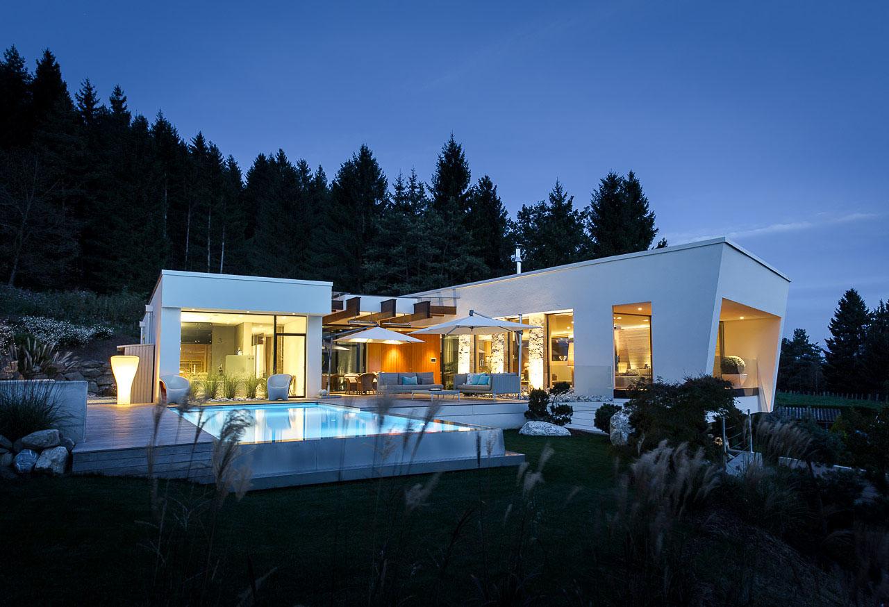 Wohnhaus am Waldrand