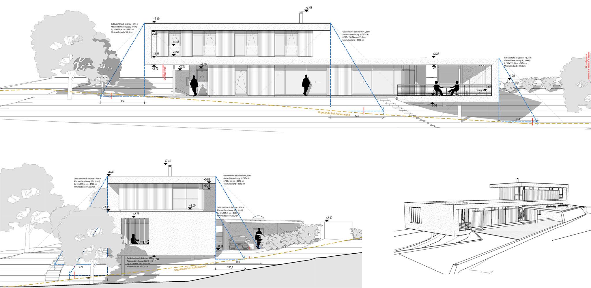 BIM Planung: Wohnhaus mit Karawankenblick