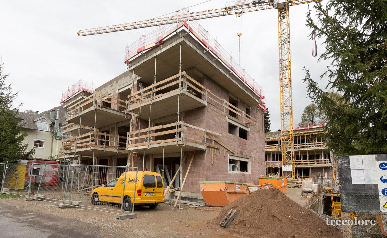 Wohnanlage Villach-Lind: Dachgleiche
