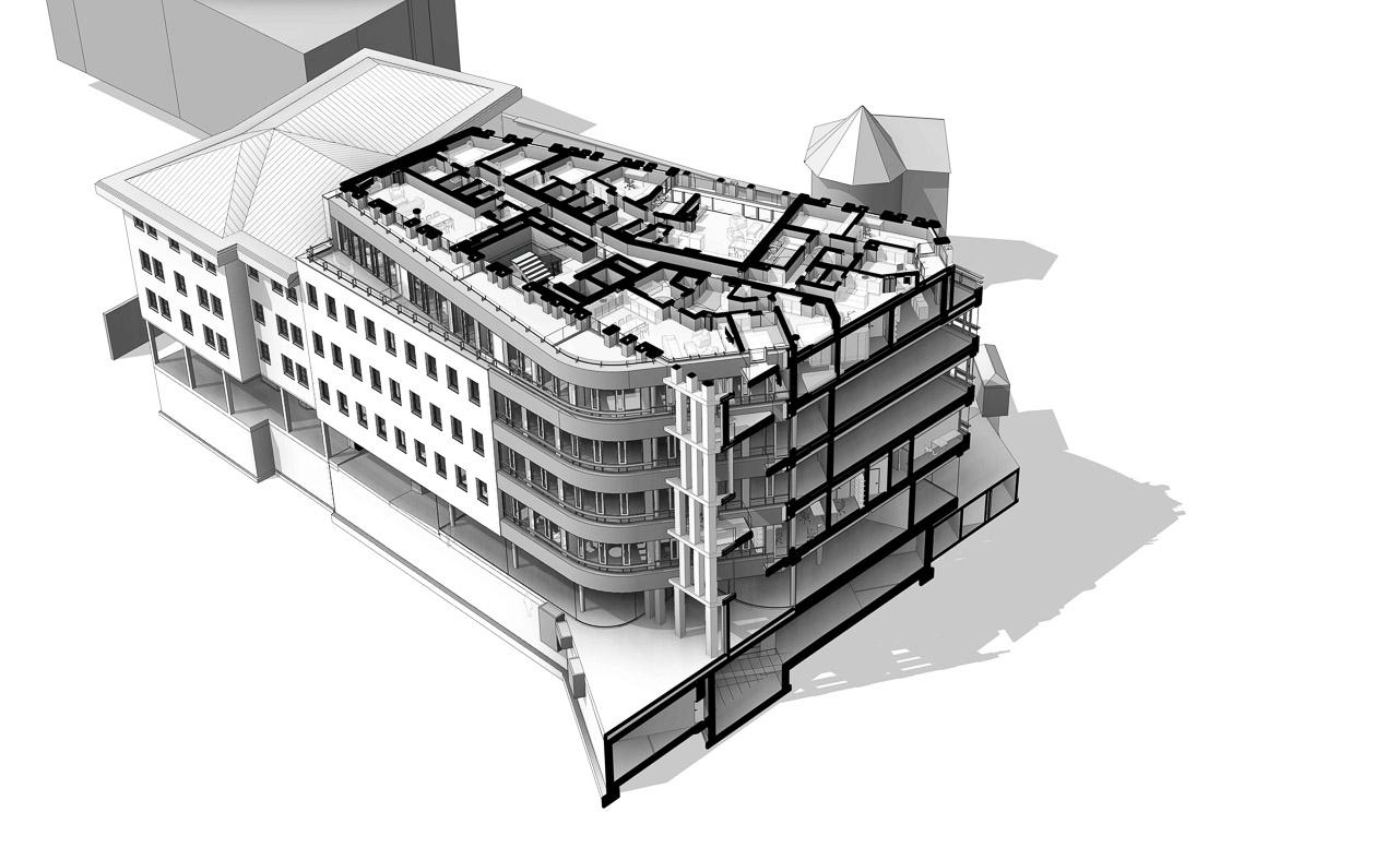 HGP9: Virtuelles BIM Gebäudemodell