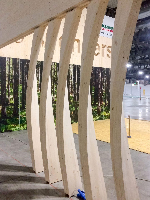 MADE-Hasslacher Norica Timber Messestand